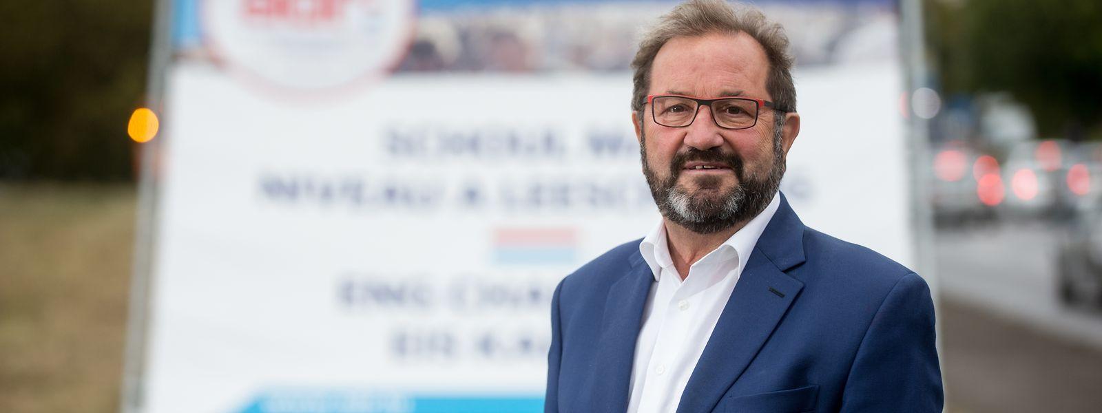 Wahlkampf ohne Kampf: Nach Meinung von Gast Gibéryen ist die politische Diskussionskultur im Land zu ruhig. Vor 30 Jahren wurden die Auseinandersetzungen härter geführt.