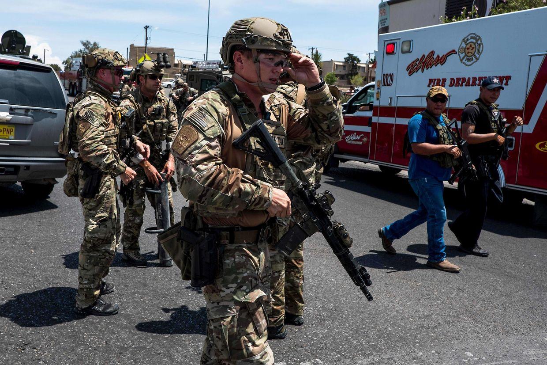 Der erste Notruf ist um 10.39 Uhr Ortszeit eingegangen; sechs Minuten später war die Polizei vor Ort.