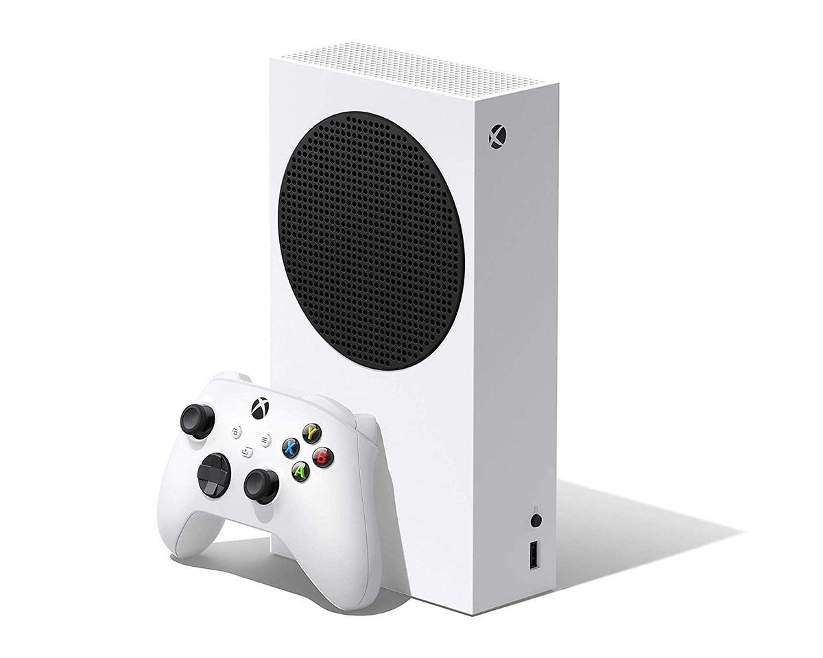 Auch wenn die Xbox Series S optisch entfernt an ein Radio erinnert, steckt in dieser günstigen Einsteiger-Variante jede Menge Leistung. Um 299 Euro.