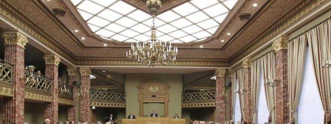 A Câmara dos Deputados, o Parlamento do Luxemburgo.