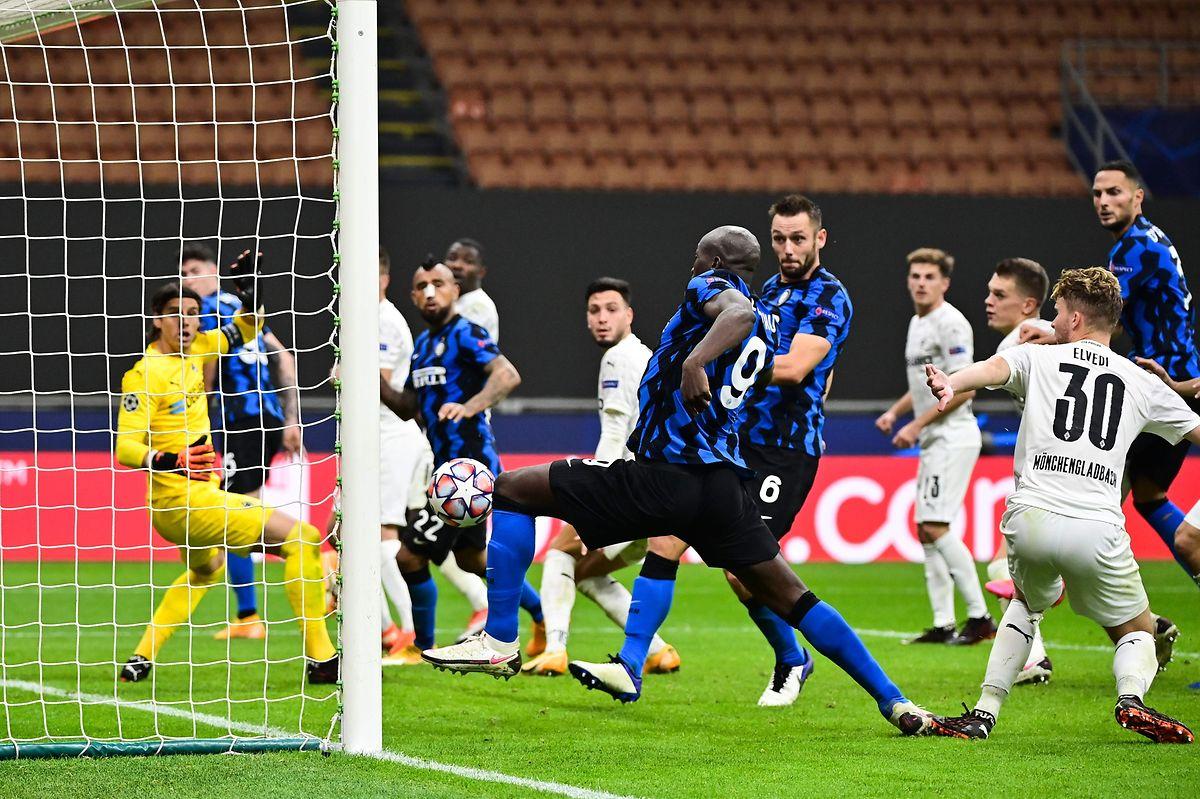 En égalisant dans les derniers instants, le Belge Romelu Lukaku a offert le match nul (2-2) à l'Inter Milan face au Borussia Mönchengladbach