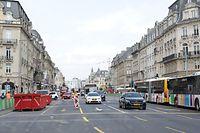 Lokales, Vues Avenue de la Liberté + Avenue de la Gare,  Foto: Chris Karaba/Luxemburger Wort