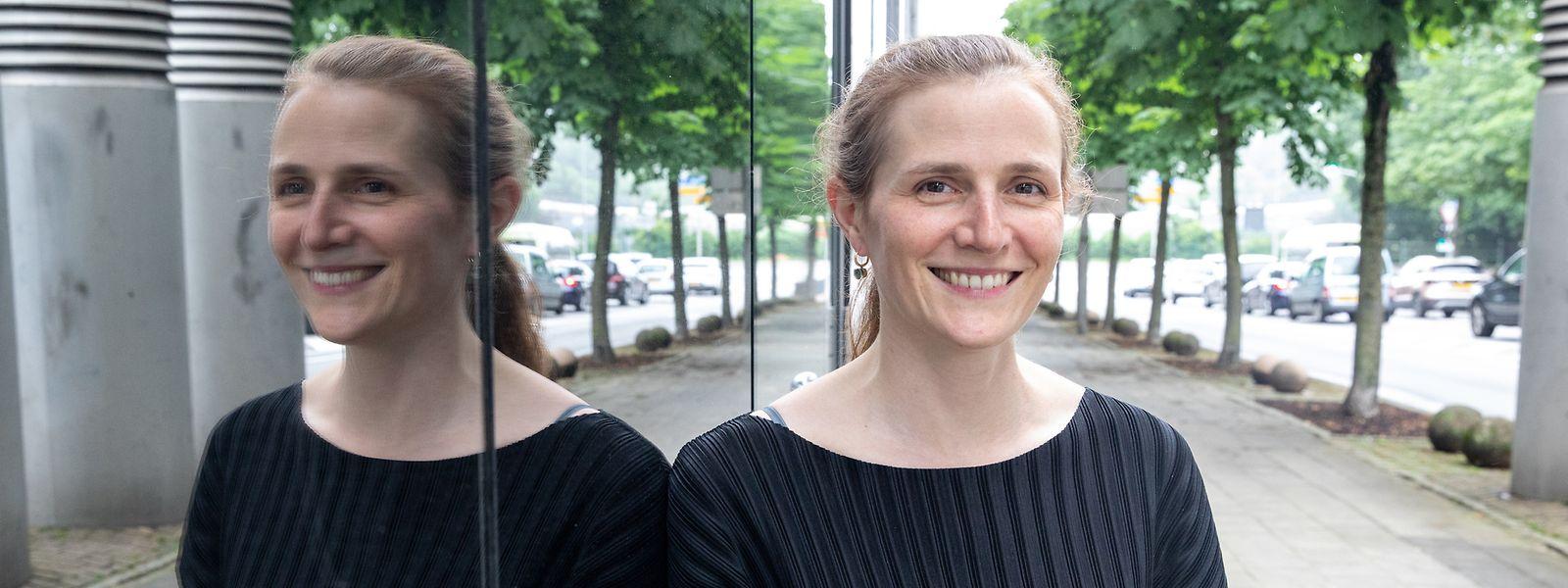 """Claire de Boursetty: """"Nous sommes là pour aider les acteurs de la Place dans leurs initiatives visant à réorienter les capitaux vers des investissements responsables."""""""