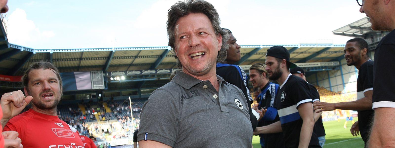 Jeff Saibene denkt gerne an seine Zeit in Bielefeld zurück.