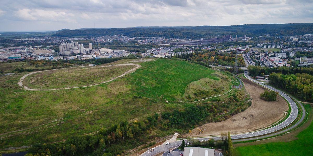 Von Montag an wird die neue Straße zwischen Lallingen und Monnerich eröffnet sein.