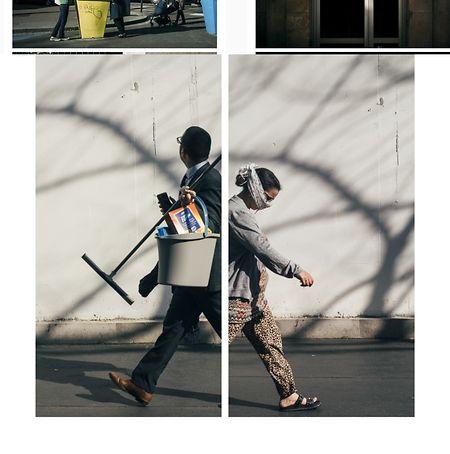 """Eugénie Baccot hat zusammen mit Cyril Abad den """"Coronascope"""" auf Instagram lanciert, in dem sie Bilder zueinanderstellt und so Menschen trotz sozialer Distanzierung  zueinanderbringt."""