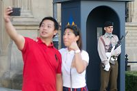 6.7.2018 Luxembourg, ville, palais Grand-Ducal, Wache, Ehrenwache, Garde photo Anouk Antony