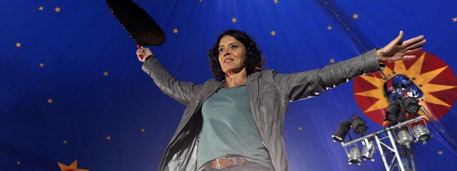 """Rundes Jubiläum: Ulrike Folkerts – hier im Tatort """"Zirkuskind"""" – schlüpft schon seit 30 Jahren in die Rolle von Kommissarin Lena Odenthal."""