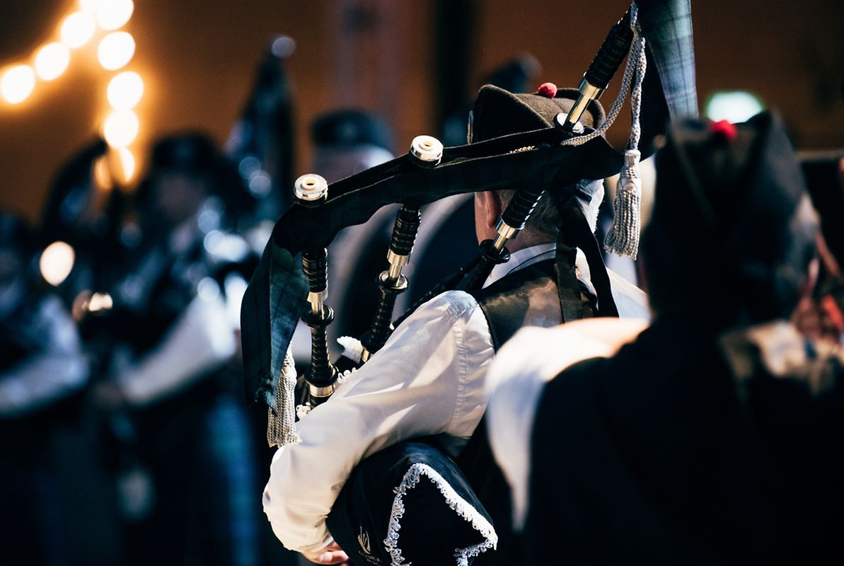 The Luxembourg Pipe Band