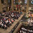 Wie im Jahr zuvor war die Kathedrale von Luxemburg auch bei der interreligiösen Feier in diesem Jahr bis auf den letzten Platz besetzt.