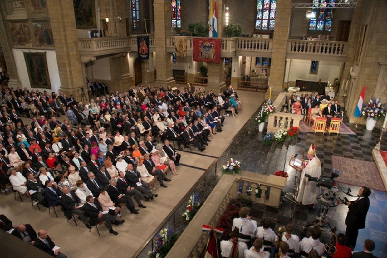 La cathédrale a affiché complet pour le traditionnel Te Deum