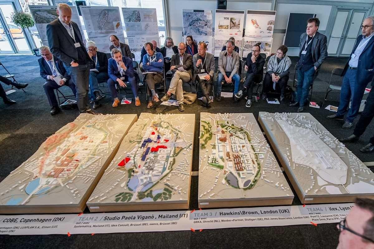 Le grand public découvrira le projet danois retenu et les trois autres en compétition lors d'une exposition cet automne.