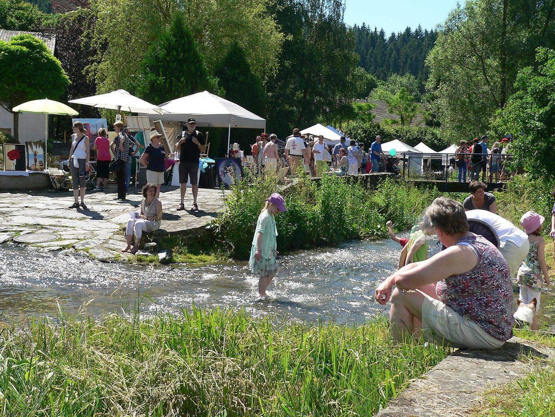 """Das """"Open Air Konstfestival"""" bleibt ein Besuchermagnet des Kiischpelt."""