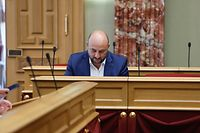 Politik, Etienne Schneider, Budgetkontrollkommission zu Observationssatellit Foto: Anouk Antony/Luxemburger Wort