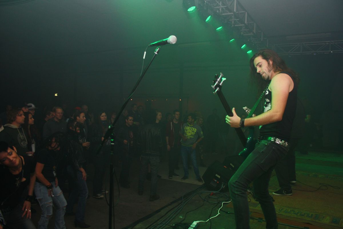 Das Nordic Rock Festival war in 2013 zu Wiltz.