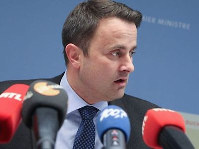 Luxembourg Prime Minister Xavier Bettel, pictured, is against fiscal harmonisation in EU member states