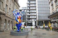 """Der neue Platz der """"Nana"""" ist an der Kreuzung von der Rue de la Poste und Rue Beck."""