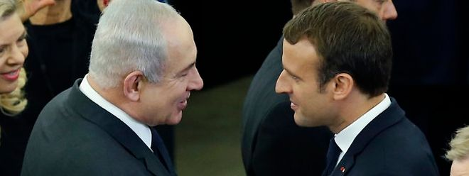 Les deux dirigeants le 1er juillet à Strasbourg.