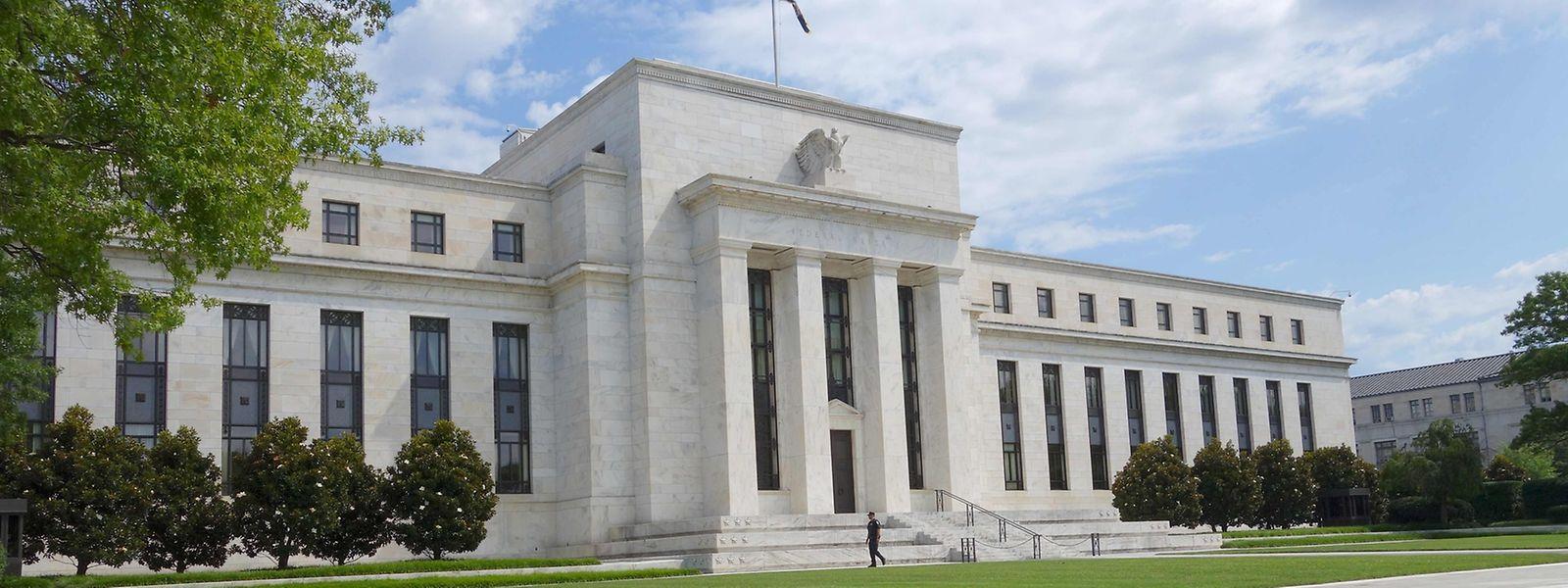 Das Gebäude der Federal Reserve in Washington.