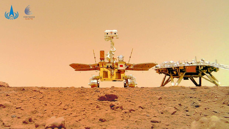 Imagens de Marte captadas pela missão chinesa