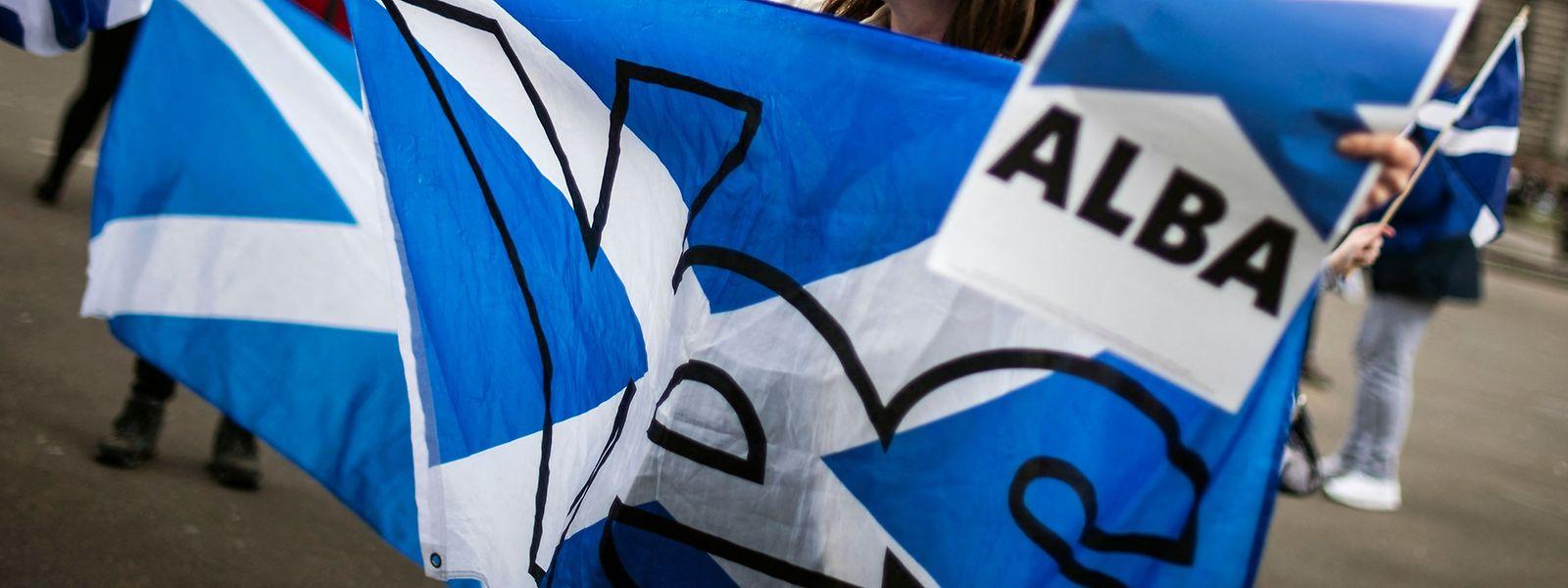 Der Wahlsieg der SNP hat den Unabhängigkeitsbestrebungen der Schotten neuen Auftrieb verschafft.