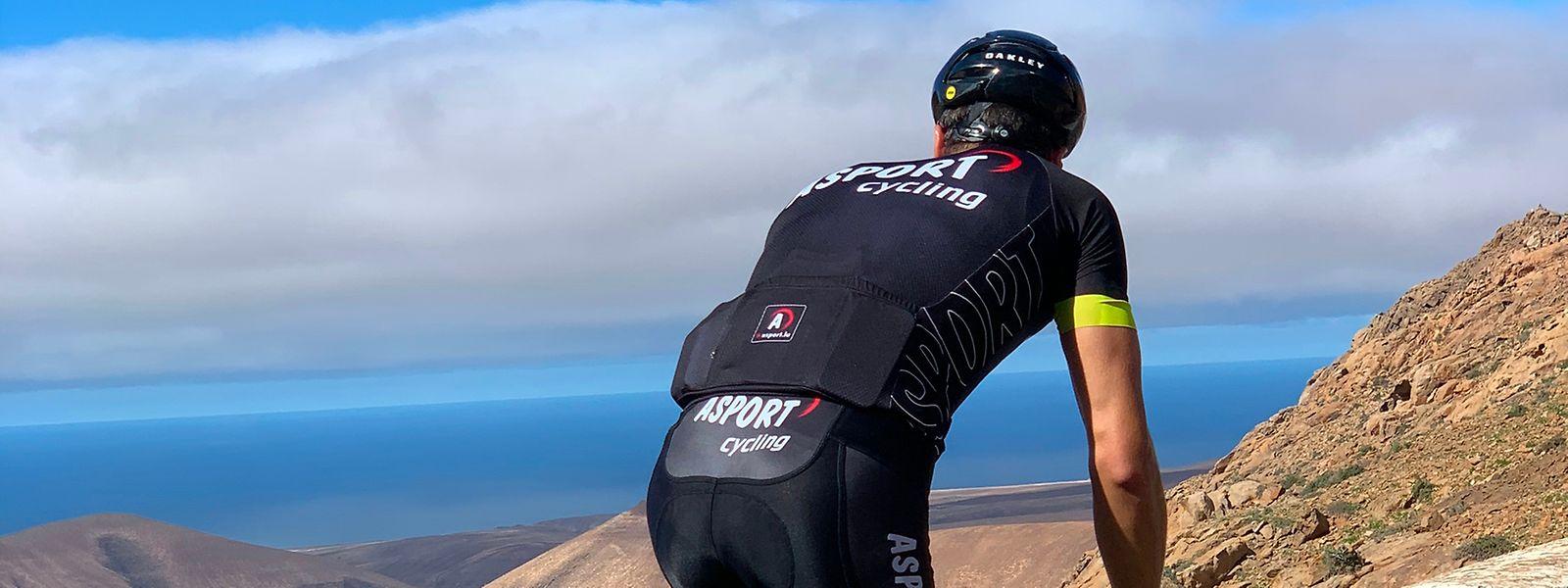 Schuften nach der Armee-Grundausbildung: Im Trainingslager in Fuerteventura baut Gregor Payet seine Form wieder auf.