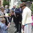 Nationalfeiertag Larochette, Visite de LL.AA.RR le Grand-Duc et la Grande Duchesse de la commune Larochette. Photo: Guy Wolff