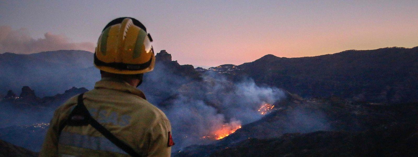 Mehr als 600 Helfer sind im Einsatz, um der Brände Herr zu werden.