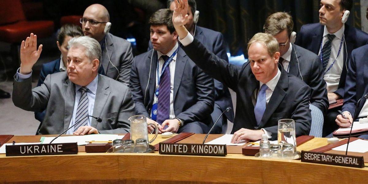 A Rússia vetou na quarta-feira no Conselho de Segurança da ONU uma resolução apresentada pelos Estados Unidos, França e Reino Unido para condenar o ataque químico da semana passada na Síria e pedir ao regime que colabore na investigação.