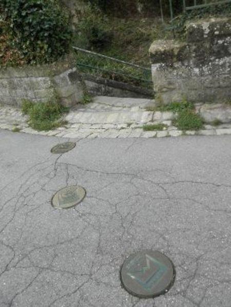 Suivez les signes marqués d'un «W» qui indiquent la suite du circuit Wenzel.