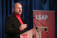 IPO - LSAP - Congrès extraordinaire- Kongress, Etienne Schneider, Strassen, foto: Chris Karaba/Luxemburger Wort