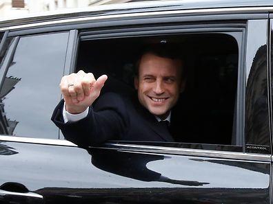 Laut Prognosen vom Wahlabend heißt der neue Präsident der französischen Republik Emmanuel Macron.