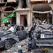 Die Explosionen sorgten für enorme Schäden.