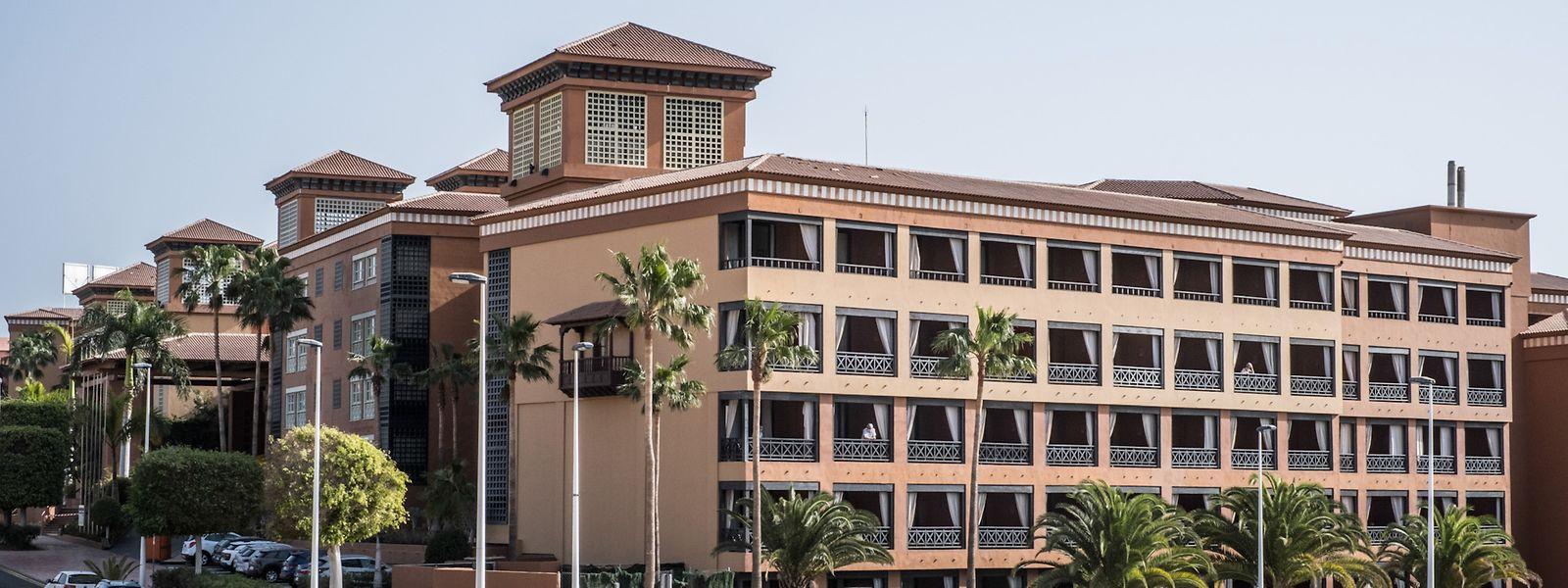 Das unter Quarantäne gestellte Hotel auf Teneriffa war zwei Wochen lang abgeriegelt.