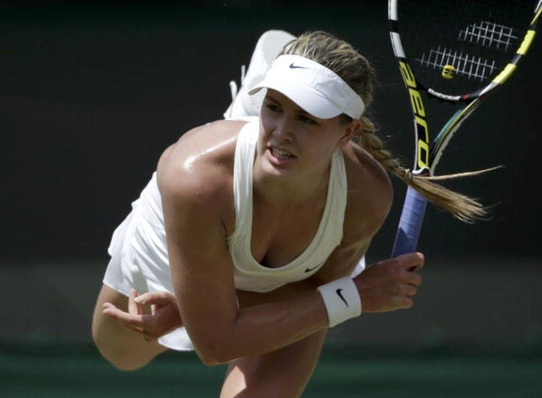 Eugenie Bouchard trat bisher ein Mal ïn Kockelscheuer auf. 2013 schied die Kanadierin in der ersten Runde gegen Andrea Petkovic aus.