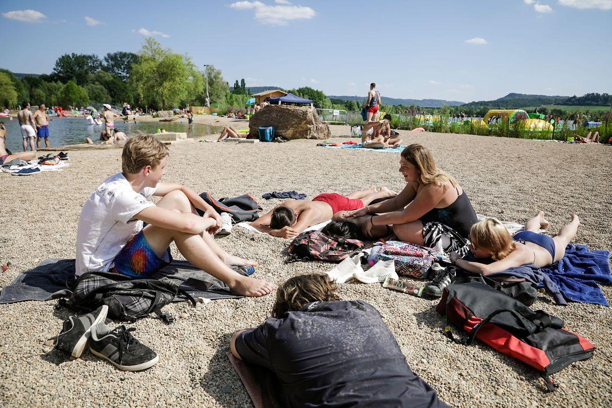 The lakes in Remerschen Photo: Pierre Matgé