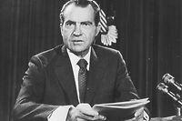Richard Nixon war von 1969 bis 1974 Präsident der USA.