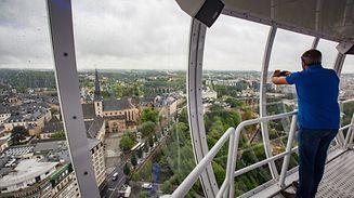 Einmalige Fotomotive bieten sich von der Aussichtsplattform an.
