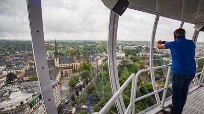City Breakfast Luxembourg - um Skyliner, Foto Lex Kleren