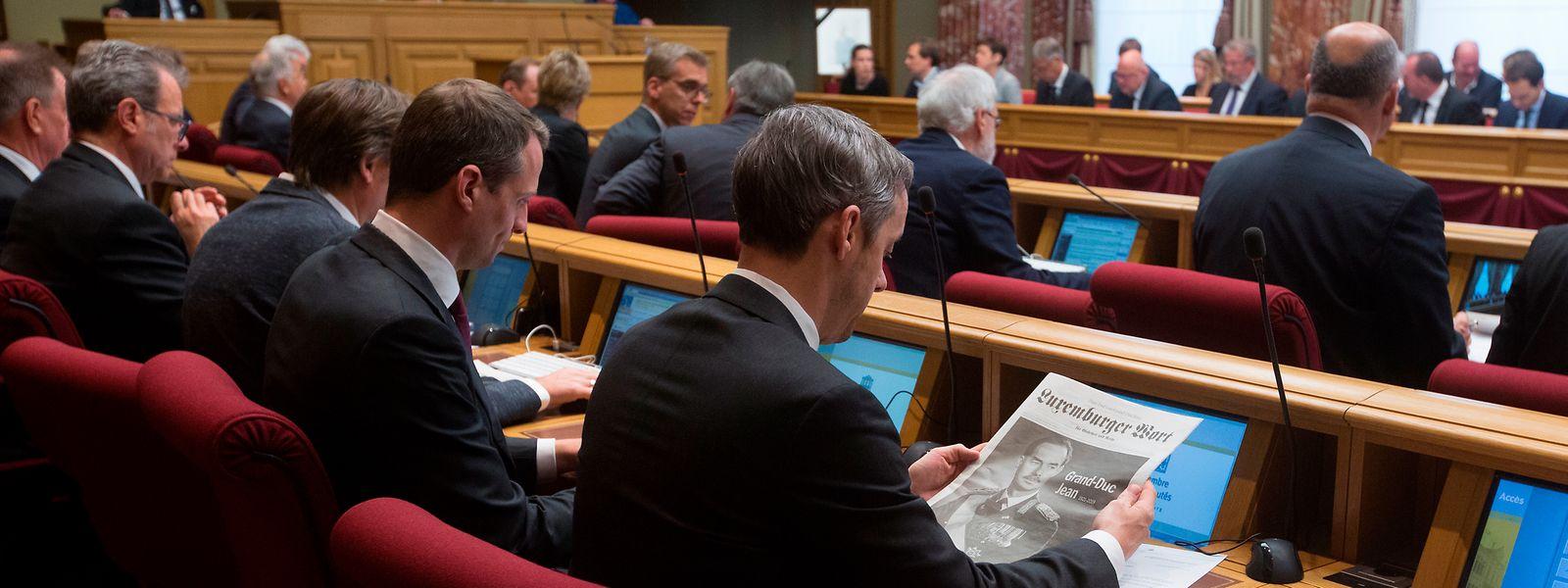 Am Mittwochmorgen begann in der Chamber der Debattenmarathon zum Staatshaushalt 2019, zum mehrjährigen Haushalt, zum Stabilitäts- und Wachstumspakt und zum nationalen Reformprogramm.