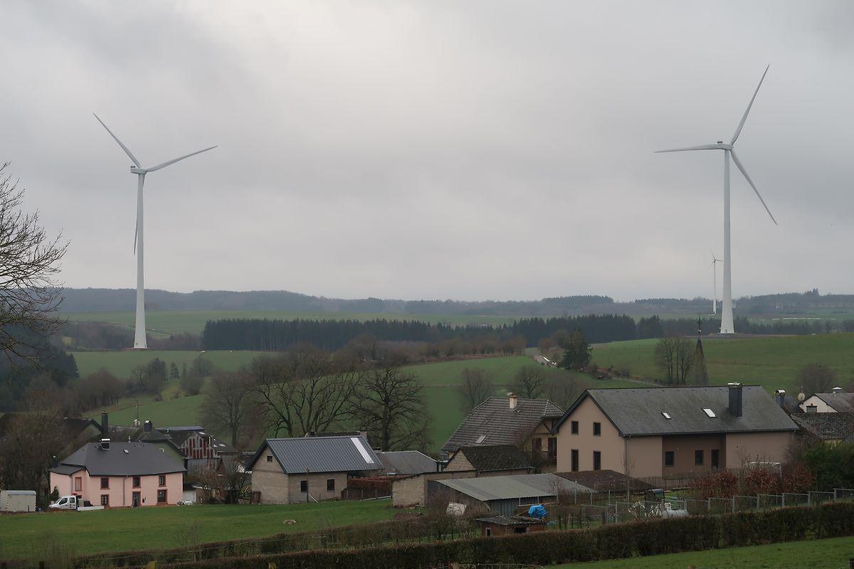 Die Windkraftanlagen gehören der neuesten technischen Generation an und sind sehr geräuscharm.
