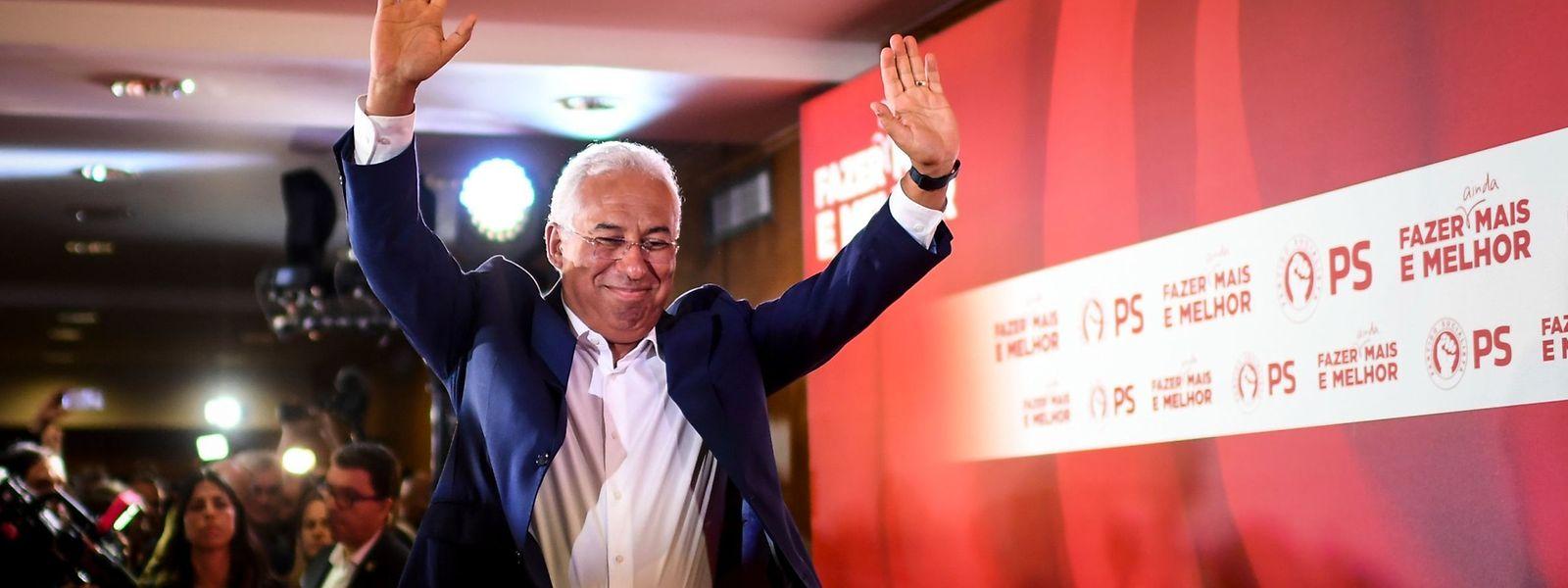 Le premier ministre Antonio Costa a mené son camp à la victoire, avec un score renforcé même.