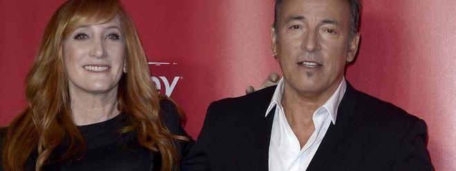 Bruce Springsteen kommt mit seiner Frau Patti Scialfa zur Gala.