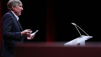 16.10.2017 Luxembourg, Bonnevoie, Rotonde1, CFL, présentation du grand projet de demain aux employés CFL , François Bausch  photo Anouk Antony