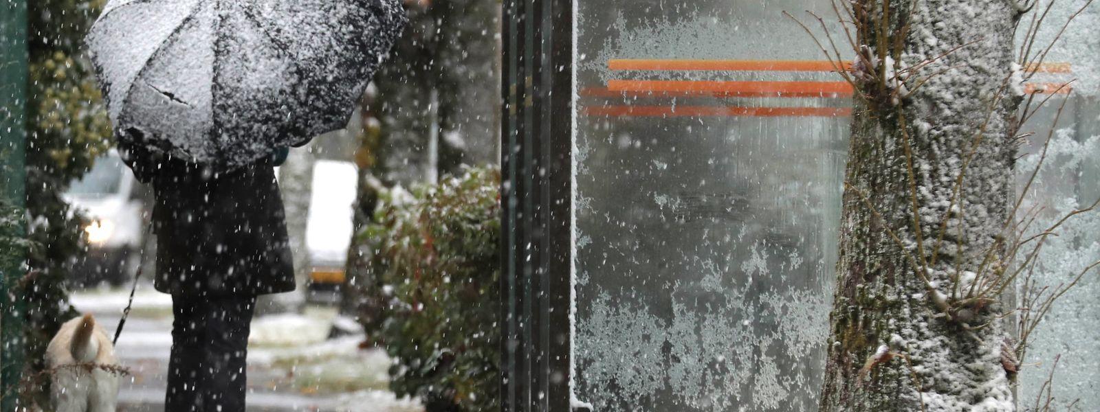 L'épisode neigeux traverse le Luxembourg.