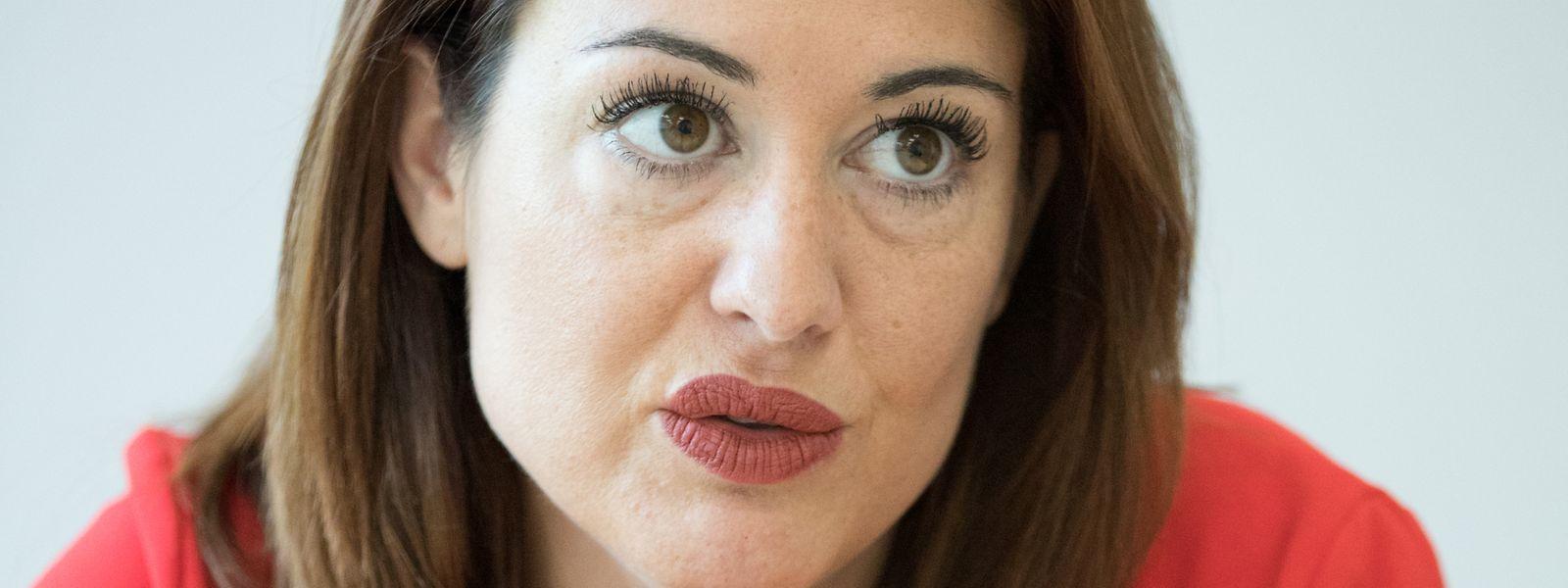 """Alexa Ballmann, die Präsidentin der Vereinigung """"Jonk Handwierk"""", fühlt sich von der Politik im Stich gelassen."""