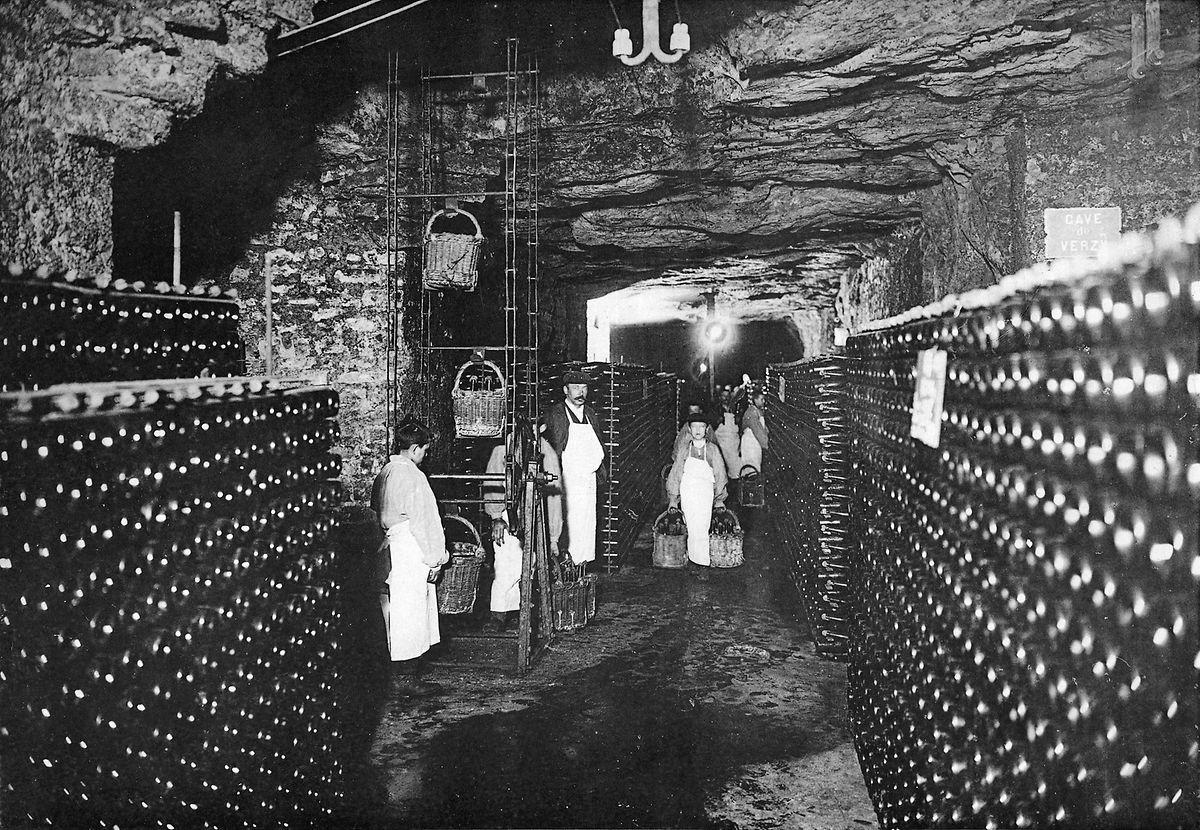 Als Keller nutzte die Firma Mercier in Luxemburg unter anderem die Kasematten