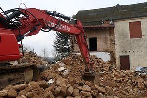 Bauernhof in Keispelt wird abgerissen.