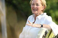 Politik, Sommerinterview Paulette Lenert, Ministerin fèr humanitäre Angelegenheiten und Verbraucherschutz. Foto: Guy Wolff/Luxemburger Wort