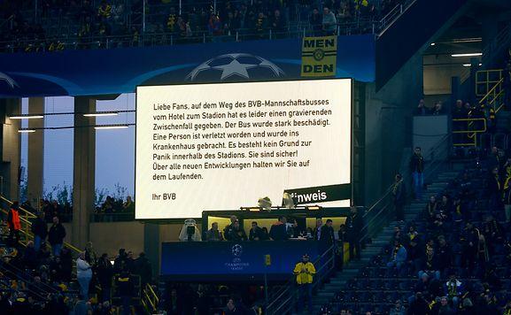 Reaktionen auf die Explosionen am BVB-Bus: